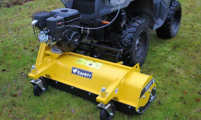 Rammy Flail mower 120 ATV & Rammy Snowblower 120 ATV
