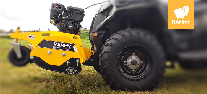 RAMMY Flailmower 120 ATV