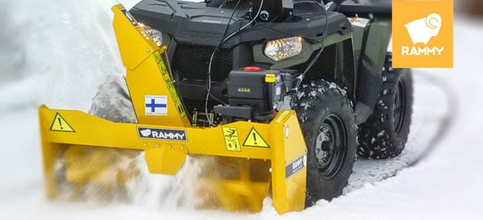 RAMMY Snowblower 120 ATV