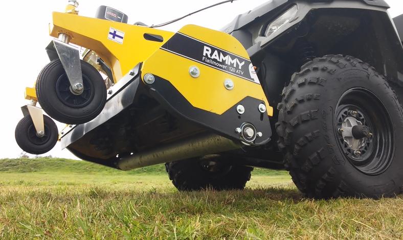 off road mower rammy oy rammy snowblower 120 atv rammy flail mower 120 atv