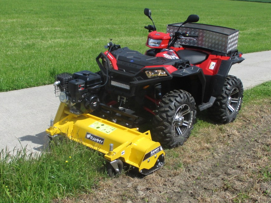 Rammy Flailmower & Polaris 1000 1 2019