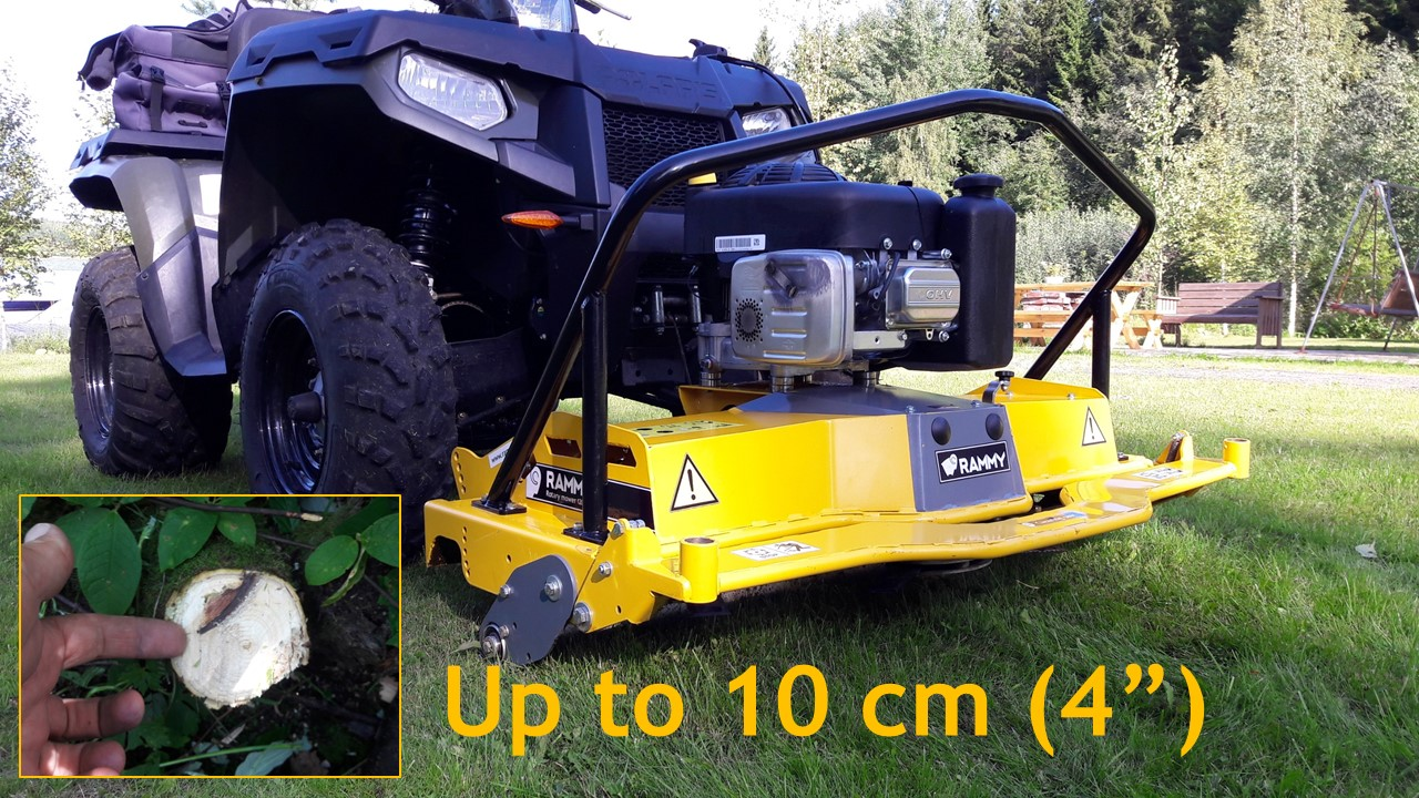 Rammy Rotary mower 120 ATV PRO kuvia 30032020_1