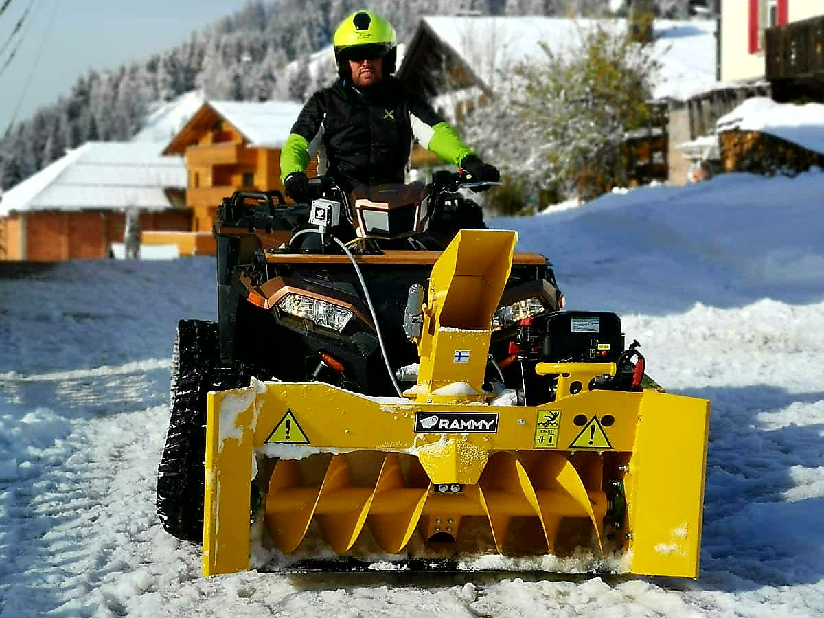Rammy Snowblower 140 ATV with tracks 14112019_4