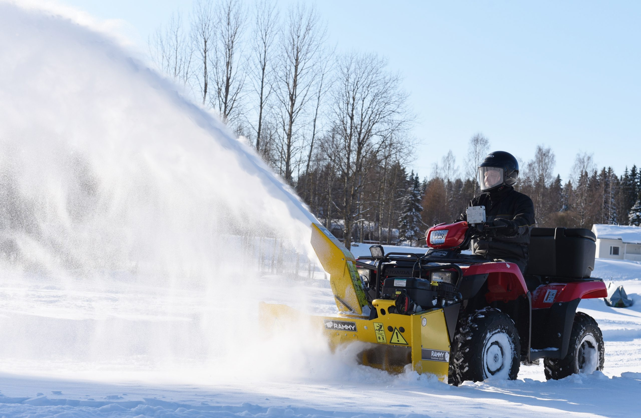 Rammy Snowblower EC 120 ATV 2019 (2)