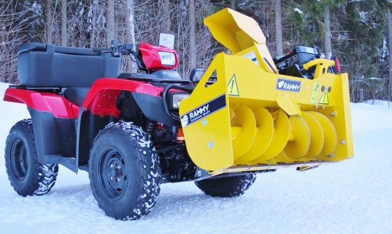 Rammy Snowblower EC 120 ATV 2019 (8)