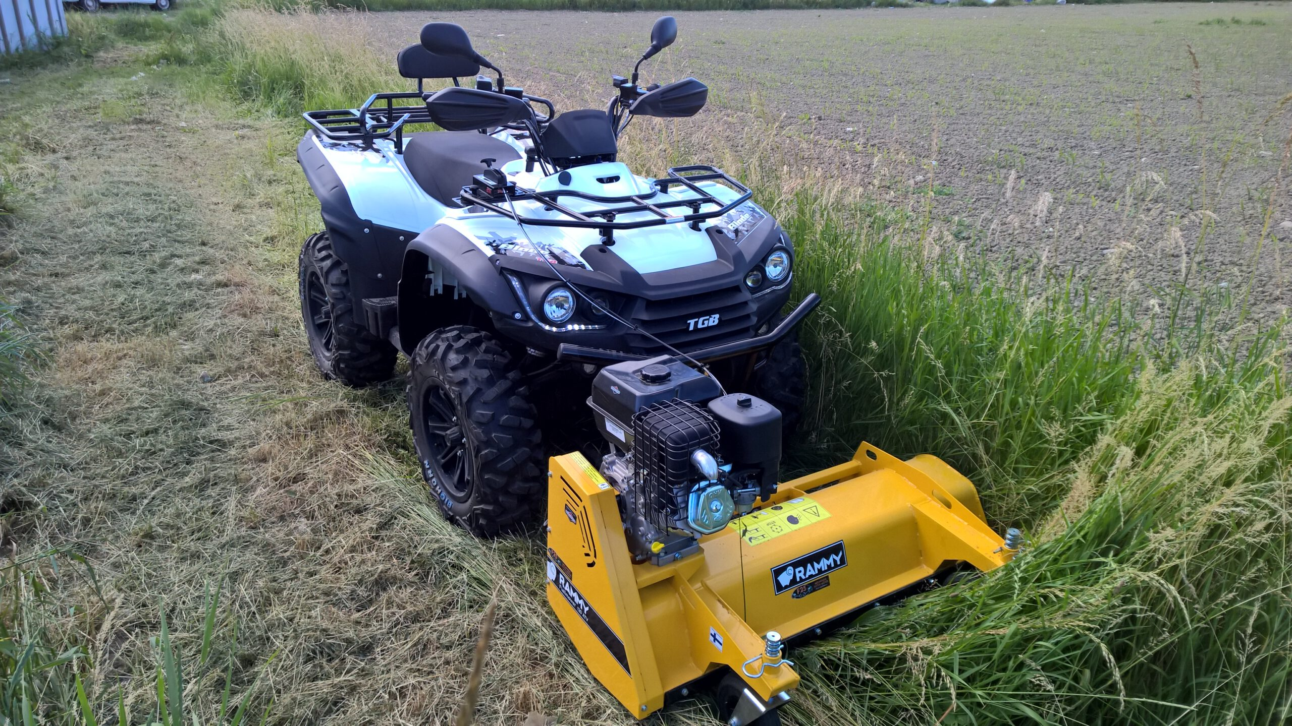 TGB and Rammy Flail mower 120 ATV 1