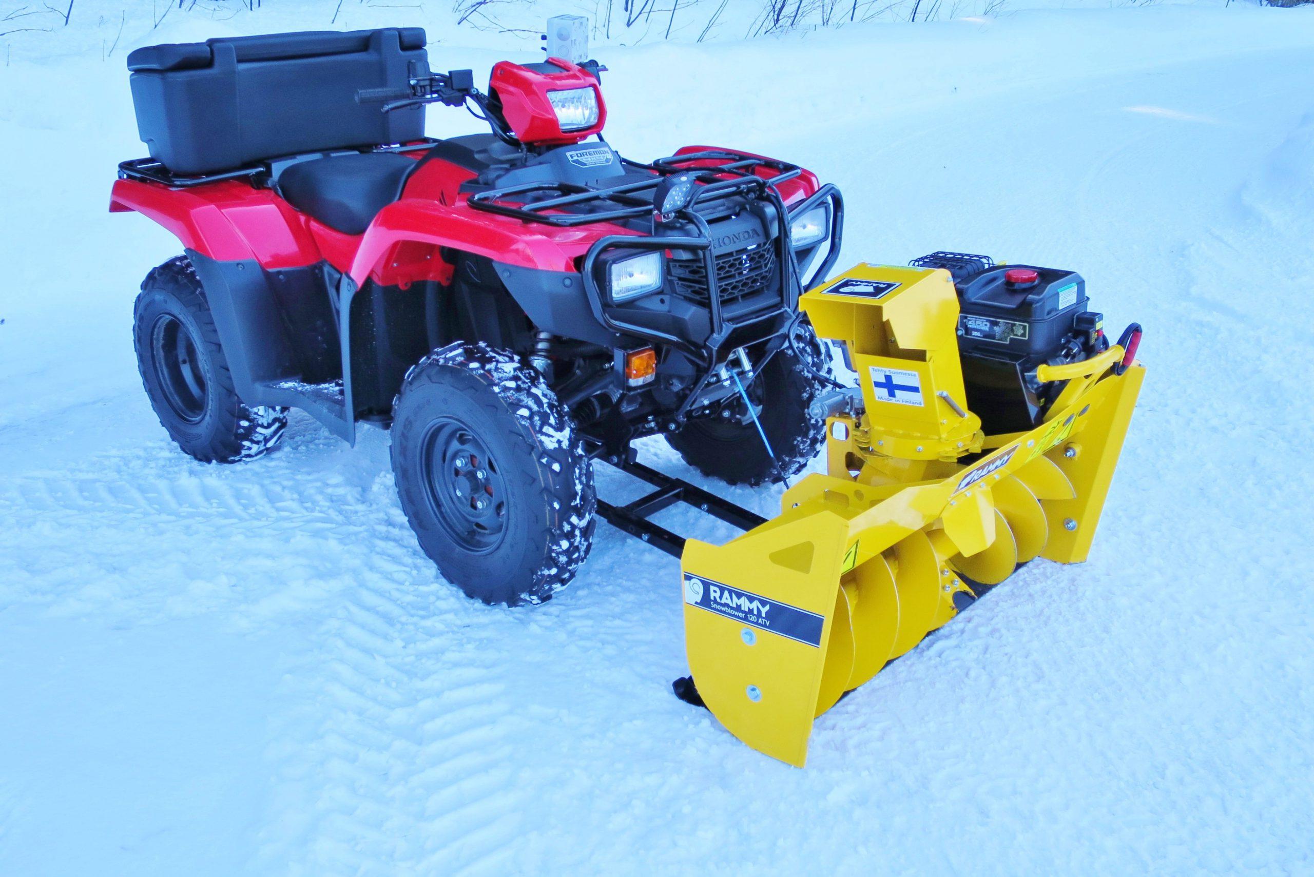 rammy snowblower 120 atv ec 306 cm3 electric start electric