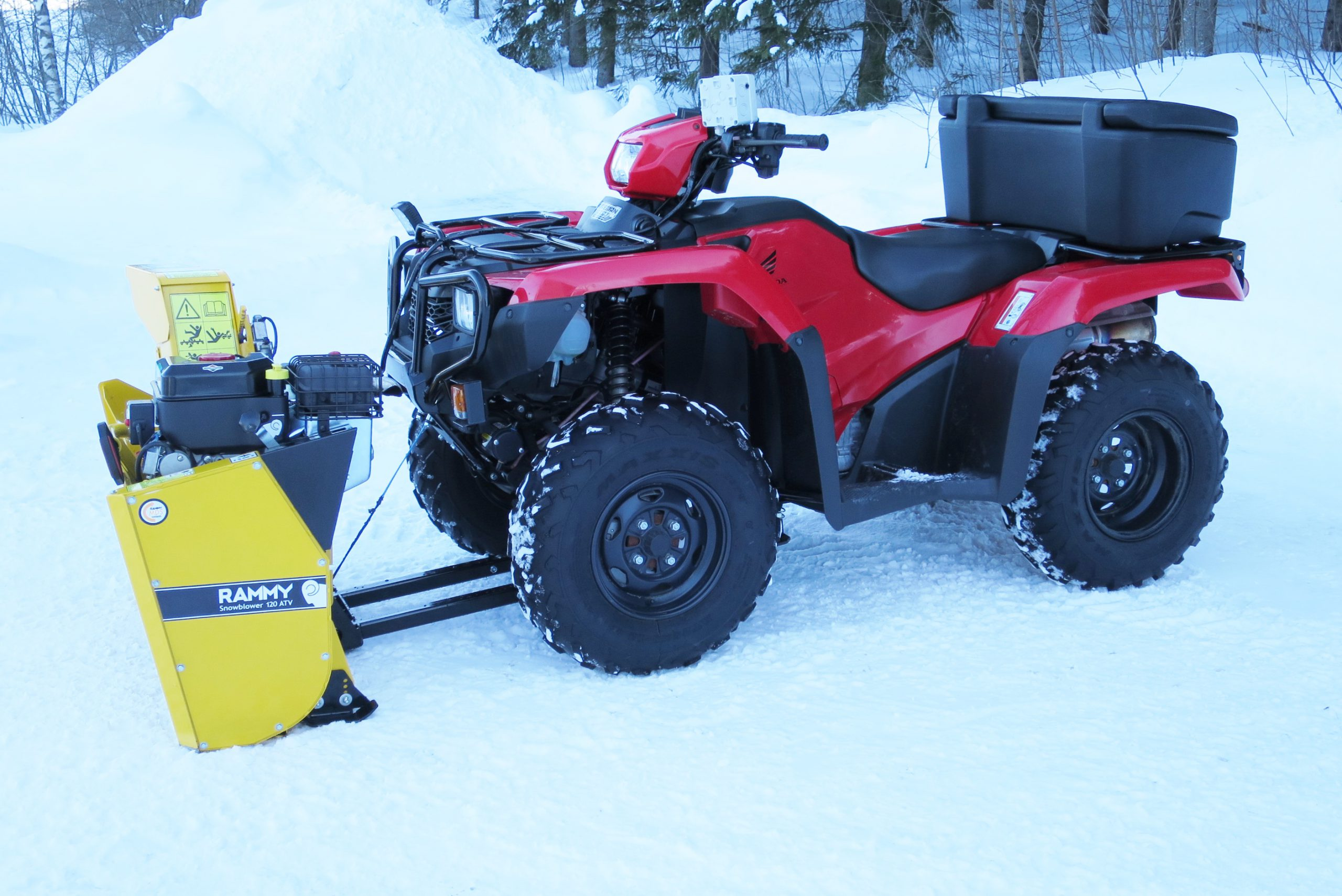 RAMMY Snowblower 120 ATV - Rammy