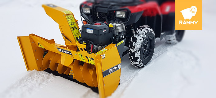 Rammy 140 UTV snowblower