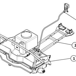 Varaosat Rotary mower